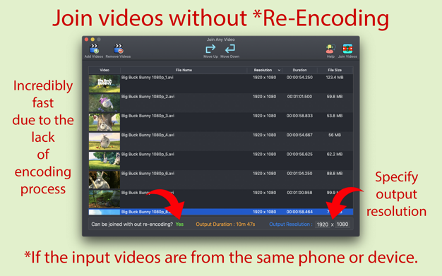 Join Any Video 3.0.2  视频合并工具-macw